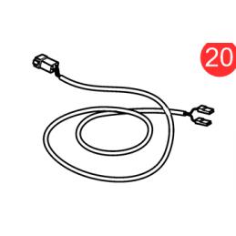 vue eclatée Kit câbles 874807 pour EVC Volvo Penta carburant eau gouvernail