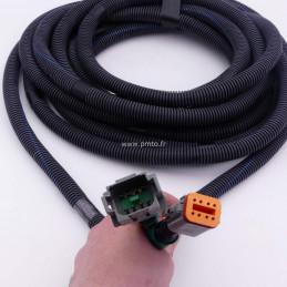 Rallonge de câble 888250 Volvo Penta 7mètres Multi Link , 8 bornes