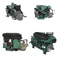 Moteur marin série D (D1, D2, D3, D4….. D16)